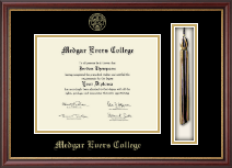 Medgar Evers College Diploma Frame - Tassel Edition Diploma Frame in Newport