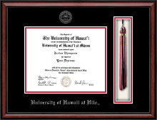 University of Hawaii at Hilo Diploma Frame - Tassel Edition Diploma Frame in Southport