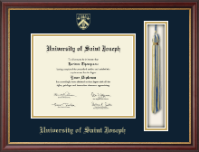 University of Saint Joseph in Connecticut Diploma Frame - Tassel Edition Diploma Frame in Newport