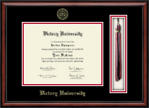 Victory University Diploma Frame - Tassel Edition Diploma Frame in Southport