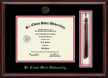St. Cloud State University Diploma Frame - Tassel Edition Diploma Frame in Southport