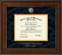 University of Wisconsin-Milwaukee Diploma Frame - Presidential Masterpiece Diploma Frame in Madison