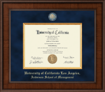 Ucla Diploma Frames For Anderson School Of Management