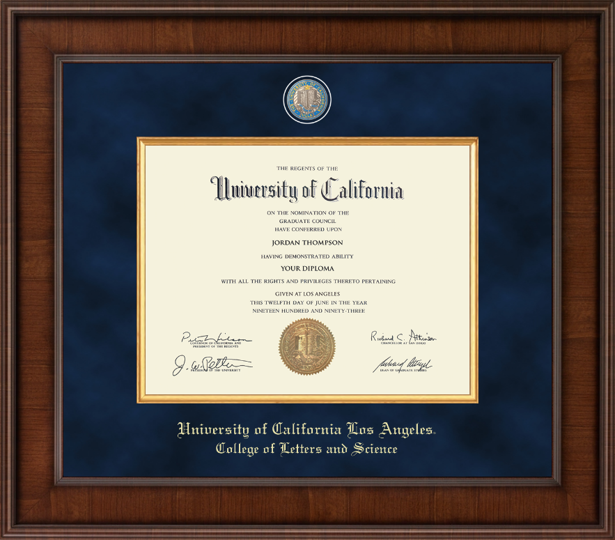 college of letters and science ucla of california los angeles presidential 20899