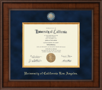 University of California Los Angeles Diploma Frame - Presidential Masterpiece Diploma Frame in Madison