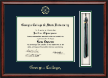 Georgia College Diploma Frame - Tassel Edition Diploma Frame in Southport