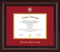 Seattle University Diploma Frame - Presidential Masterpiece Diploma Frame in Premier