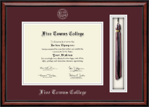 Five Towns College Diploma Frame - Tassel Edition Diploma Frame in Southport