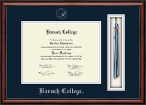 Baruch College Diploma Frame - Tassel Edition Diploma Frame in Southport