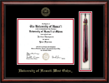 University of Hawaii West Oahu Diploma Frame - Tassel Edition Diploma Frame in Southport