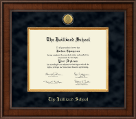 The Juilliard School Diploma Frame - Presidential Gold Engraved Diploma Frame in Madison