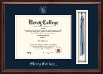 Mercy College Diploma Frame - Tassel Edition Diploma Frame in Southport