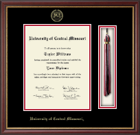 University of Central Missouri Diploma Frame - Tassel Edition Diploma Frame in Newport
