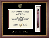 Morningside College Diploma Frame - Tassel Edition Diploma Frame in Newport