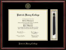 Patrick Henry College Diploma Frame - Tassel Edition Diploma Frame in Southport