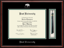 Post University Diploma Frame - Tassel Edition Diploma Frame in Southport