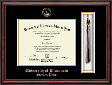 University of Wisconsin Stevens Point Diploma Frame - Tassel Edition Diploma Frame in Southport