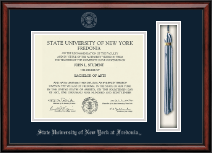 State University of New York at Fredonia Diploma Frame - Tassel Edition Diploma Frame in Southport