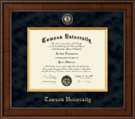 Towson University Diploma Frame - Presidential Masterpiece Diploma Frame in Madison