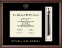 The College of St. Scholastica Diploma Frame - Tassel Edition Diploma Frame in Newport