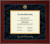 Arcadia University Diploma Frame - Presidential Gold Engraved Diploma Frame in Jefferson
