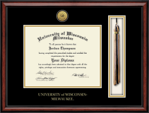 University Of Wisconsin Milwaukee Diploma Frame