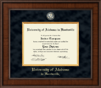 The University of Alabama Huntsville Diploma Frame - Presidential Masterpiece Diploma Frame in Madison