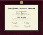 Embry-Riddle Aeronautical University Diploma Frame - Century Gold Engraved Diploma Frame in Cordova