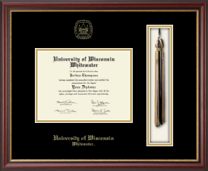 University of Wisconsin Whitewater Diploma Frame - Tassel Edition Diploma Frame in Newport