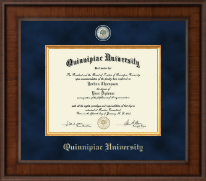 Quinnipiac University Diploma Frame - Presidential Masterpiece Diploma Frame in Madison