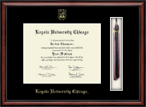 Loyola University Chicago Diploma Frame - Tassel Edition Diploma Frame in Southport