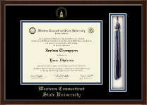 Western Connecticut State University Diploma Frame - Tassel Edition Diploma Frame in Delta