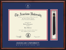 American University Diploma Frame - Tassel Edition Diploma Frame in Southport