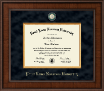 Point Loma Nazarene University Diploma Frame - Presidential Masterpiece Diploma Frame in Madison