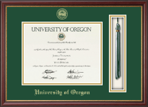 University of Oregon Diploma Frame - Tassel Edition Diploma Frame in Newport
