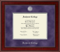 Amherst College Diploma Frame - Presidential Masterpiece Diploma Frame in Jefferson