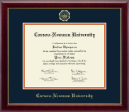Carson-Newman University Diploma Frame - Gold Embossed Diploma Frame in Gallery