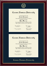 Carson-Newman University Diploma Frame - Double Document Diploma Frame in Gallery