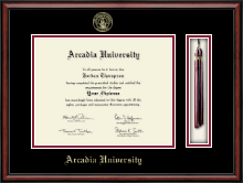 Arcadia University Diploma Frame - Tassel Edition Diploma Frame in Southport