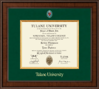 Tulane University Diploma Frame - Masters/PhD - Presidential Masterpiece Diploma Frame in Madison