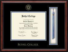 Bethel College Indiana Diploma Frame - Tassel Edition Diploma Frame in Southport