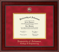 University of Arkansas Diploma Frame - Presidential Masterpiece Diploma Frame in Jefferson