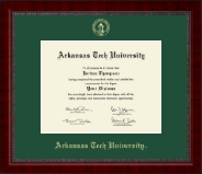 Arkansas Tech University Diploma Frame - Gold Embossed Diploma Frame in Sutton