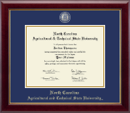 North Carolina A&T State University Diploma Frame - Masterpiece Medallion Diploma Frame in Gallery