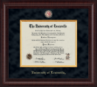 University of Louisville Diploma Frame - Presidential Masterpiece Diploma Frame in Premier