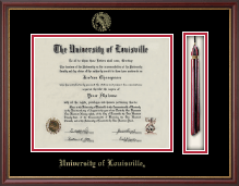 University of Louisville Diploma Frame - Tassel Edition Diploma Frame in Newport