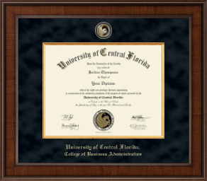 Ucf College Of Business Administration Diploma Frames