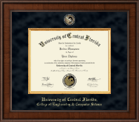 College Of Sciences Ucf >> Ucf College Of Engineering Computer Sciences Diploma Frames