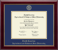 North Carolina A&T State University Diploma Frame - Gold Embossed Diploma Frame in Gallery