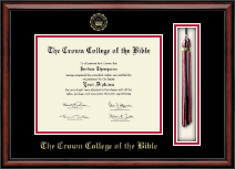 The Crown College of the Bible Diploma Frame - Tassel Edition Diploma Frame in Southport